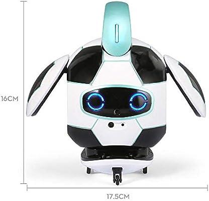 Juguetes Robot Detección De Obstáculos Inteligente De Voz Creativa De Control Táctil La Evitación del Robot De Juguete RC Danza Sing Regalo de cumpleaños para niños niñas: Amazon.es: Hogar