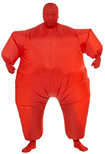 10 Funny Halloween Costumes (Rubie's Inflatable Full Body Suit Costume, Red, One)