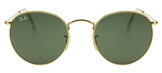 Óculos de Sol Ray Ban Round Metal RB3447L 001-50  Amazon.com.br ... 6842238c4f