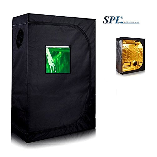 Cheap SPL 36″x20″x64″ Hydroponic Water-Resistant Grow Tent with Removable Floor Tray for Indoor Seedling Plant Growing 4'x8't (36″x20″x64″)