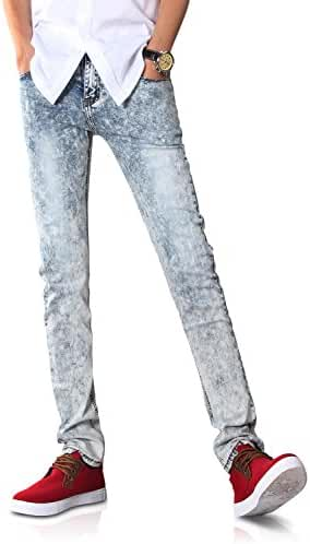 Demon&Hunter 808 Series Men's Skinny Fit Slim Jeans