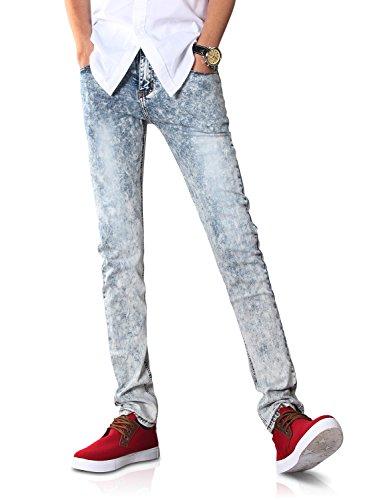 Demon&Hunter 808 Series Men's Skinny Slim Jeans DH8038(32)