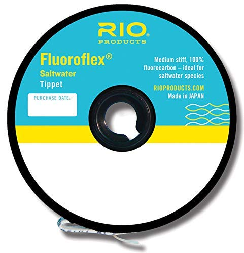 (Rio Fly Fishing Tippet Saltwater Tippet 30yd 16Lb Fishing Tackle, Clear)