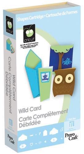 Cricut Shapes Cartridge Wild Card By The (Cricut Wild Card)