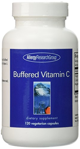 Allergy Research Group Buffered Vitamin C 500 mg - 120 Vegetarian - Vitamin Buffered Complex C