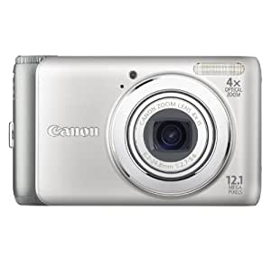 Canon PowerShot A3100IS 12.1 MP Digital Camera with 4x Optical Image Stabilized Zoom and 2.7-Inch LCD (Silver)