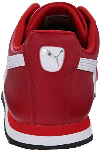 PUMA Men's Roma Basic Sneaker Rio Red/White clearance good selling eastbay sale online 4fUSMdqi
