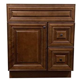 New Maple walnut Single-sink Bathroom Vanity Base Cabinet ...