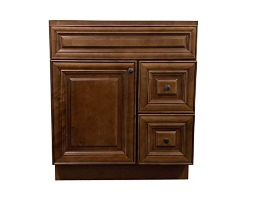 New Maple walnut Single-sink Bathroom Vanity Base Cabinet 30