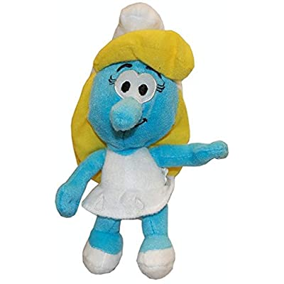 "Nanco Smurfs 8.5"" Plush: Smurfette: Toys & Games"