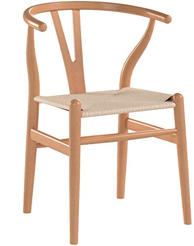 Poly and Bark Weave Chair in Natural (Set of 2) by Poly and Bark (Image #8)