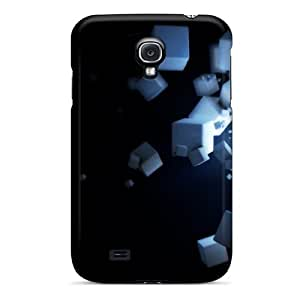 Snap-on Floating Cubes 3d Cases Covers Skin Compatible With Galaxy S4 Black Friday