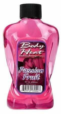 Body heat lotion - passion fruit 8 oz (Package Of 7)