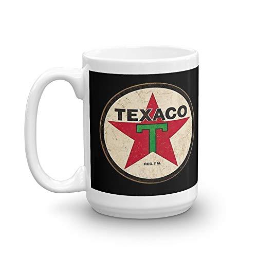 Texaco - Vintage Sign 15 Oz White Ceramic