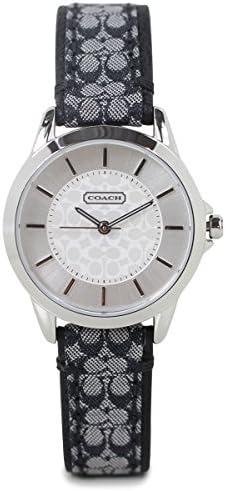 [Coaches] Coach Women's Watch 14501524Signature Jacquard/Leather Belt Watch [parallel import goods]