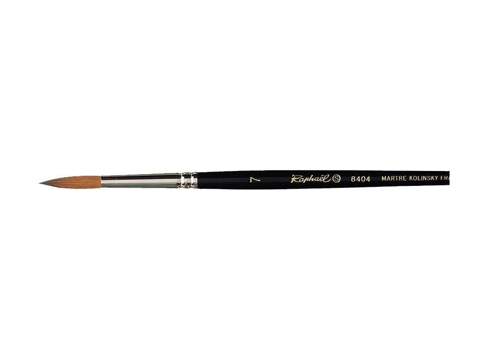 8404 Kolinsky Red Sable watercolor brush round brush No. 7 Rafael (japan import)