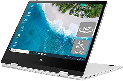 iProda Laptop 2 in 1, 11.6″ Touchscreen Laptop (Intel N4100 up to 2.4GHz, 4GB RAM, 64GB SSD, Windows 10 Pro, HDMI, IPS) UItra Thin & Light with Metal Shell, Perfect PC for Student and Business use