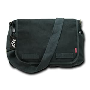 Rapiddominance Classic Military Messenger Bags, Black