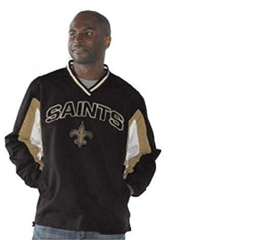 G-III Sports New Orleans Saints Power Play Pullover Jacket (Pullover Orleans Jacket New Saints)