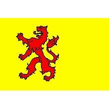 South Holland Bandera | bandera paisaje | 0.06m² | 20x30cm para Diplomat-Flags Banderas de Coche