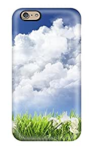New Premium IIYNcvO5984ceOvV Case Cover For Iphone 6/ Sky And Flowers Protective Case Cover
