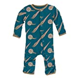 KicKee Pants Little Boys Print Coverall with