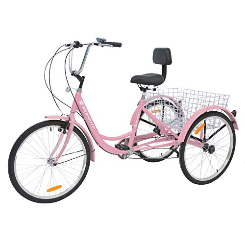 cute trike for grocery shopping PINK