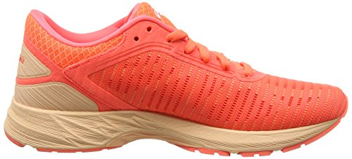 Asics Dynaflyte 2, Scarpe Running Donna Arancione (Flash Coral/White/Apricot Ice 0601)