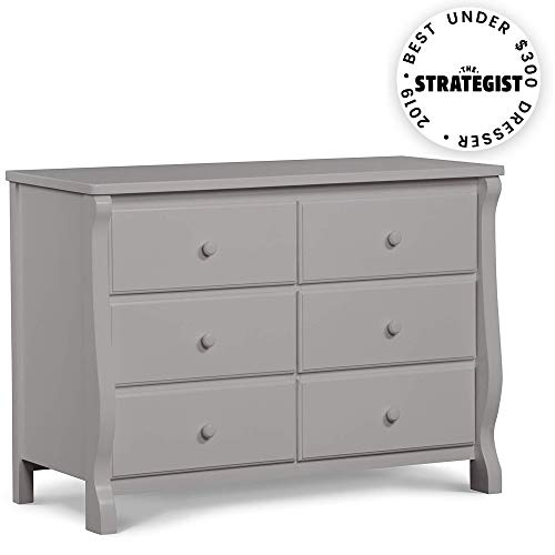 Delta Children Universal 6 Drawer Dresser, Grey from Delta Children