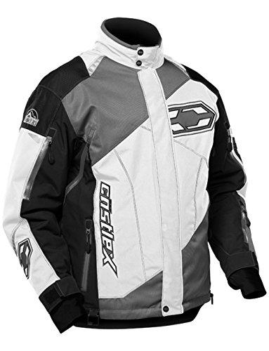 Castle X Thrust Mens Snowmobile Jacket White XL