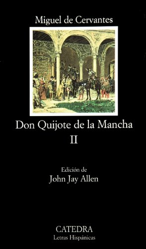 don quijote de la mancha adapted for intermediate students paperback Alonso quixana is an older gentleman who lives in la mancha, in the spanish countryside he has read many of the books of chivalry and as a result, he has lost his wits, and he decides to roam the country as a knight-errant named don quixote de la mancha.
