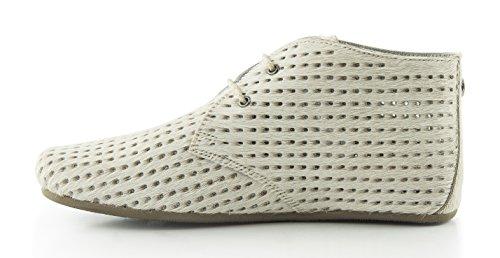 Maruti Gimlet Hairon Perfo Leather - 66.1072.16-B00 - White, 36, 3.5