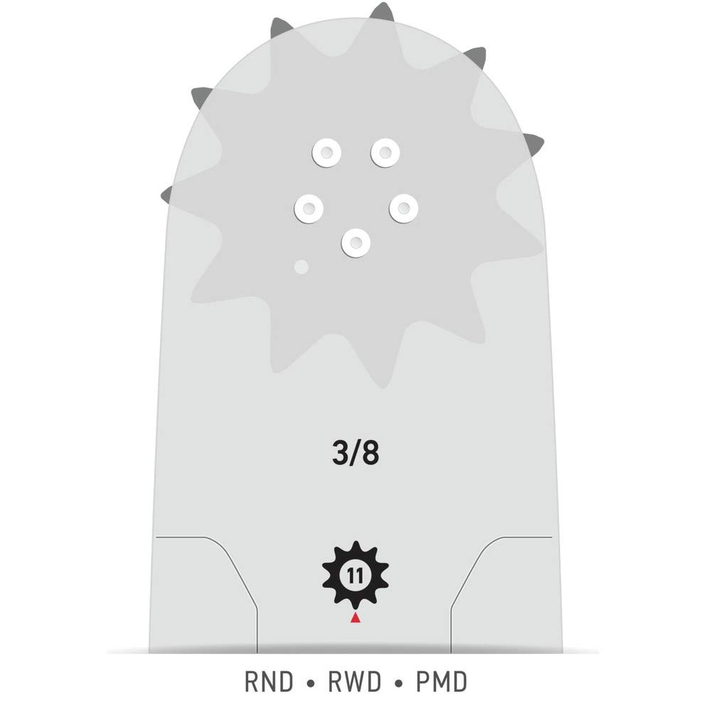 Oregon 240RNDD025 .050 Gauge 3//8 Pitch 24 Power Match Bar
