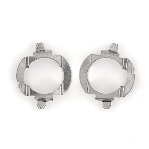 H7 LED Headlight Retainers Holder Adapter Fits Various Volkswagen VW Passat Touareg/SAAB/Mercedes Benz B Class ML - PAIR
