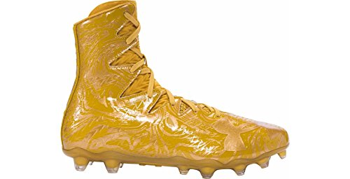Under Armour Highlight Lux MC Football Cleats (8.5, Gold Rush/Gold Rush)