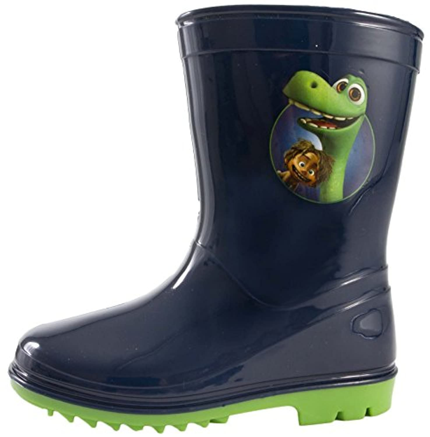 Kids Disney The Good Dinosaur Arlo Rubber Wellingtons Wellies Snow Boots Size UK 5-11
