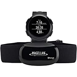 Magellan TW0200SGHNA Echo Fit Smart Sports Watch with Activity Sleep Tracking and Heart Rate Monitor-Bluetooth Smart (Black)