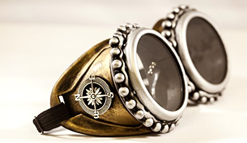 Mad max Goggles with Key Necklace