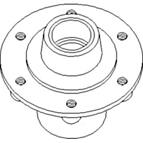 AN183318 New Hub Assembly For John Deere Cultivator 1690 1810 1820 1890 1895 +