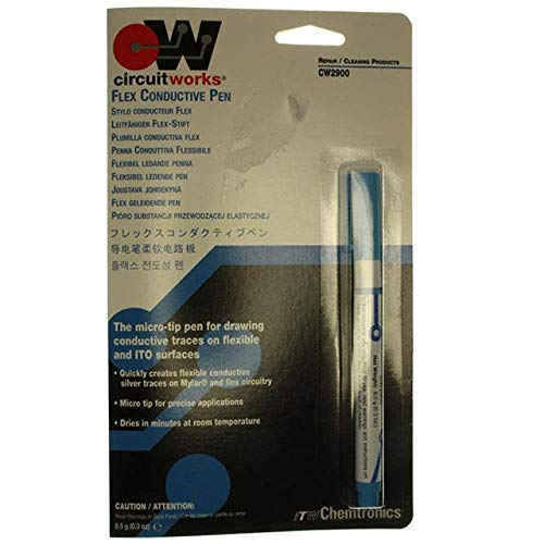 COND ACRYLIC ADH PEN 8.5G SILVER (Pack of 1) (CW2900) by Chemtronics