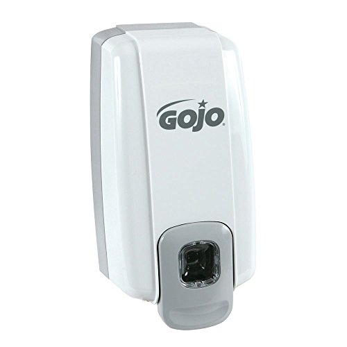 Gojo NXT Grey Plastic General Purpose Push Bar Dispenser For Deluxe Lotion Soap ()