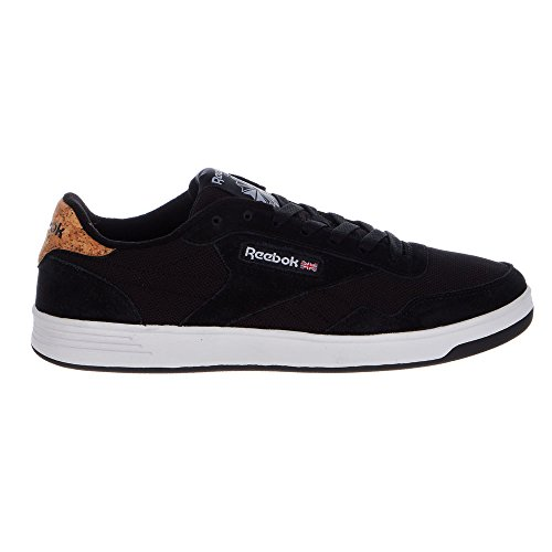 Reebok Men's Club MEMT Classic Sneaker Black/White Manchester cheap price h4FMR
