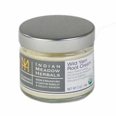 Indio del Prado hierbas Wild yam root crema 2oz USDA certificado