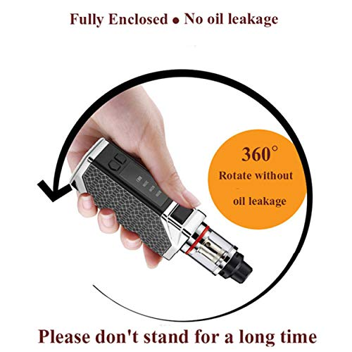HUAXIANGVape Power Adjustable Black Box Large Capacity Tank Smoke to Relieve Fatigue Assistant Tool