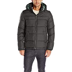 Tommy Hilfiger Men's Classic Hooded Puffer
