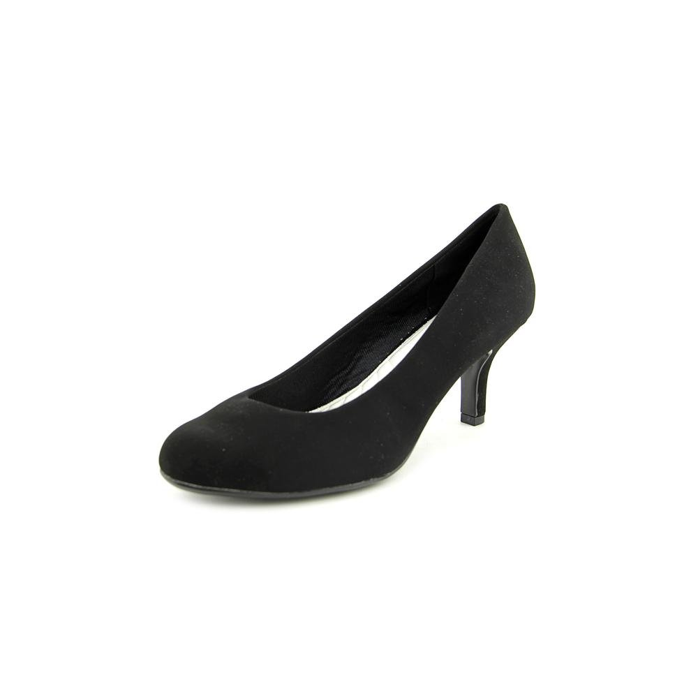 Easy Street Women's Passion Dress Pump B00F8GKJ16 10 C/D US|Black Suede