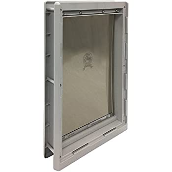 Ideal Pet Products Designer Series Plastic Pet Door with Telescoping Frame Extra-Large