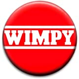 Wimpy Badge by RetroBadge