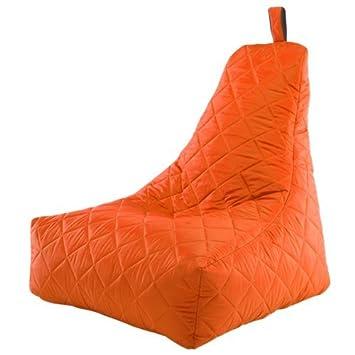 Escudo Acolchado Puf Gamer Impermeable Gaming Brazo Silla con Respaldo Reclinable, Color Naranja: Amazon.es: Hogar