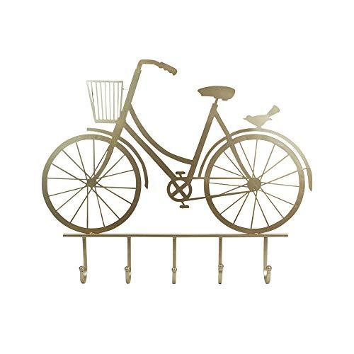 Home Gadgets Perchero de Pared Metal Bicicleta 59 cm: Amazon.es: Hogar